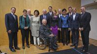 Wolfgang Schäuble weiterhin Vorsitzender der Freunde des Festspielhauses - Ernst-Moritz Lipp übergab an Ex-BASF-Vorstand John Neumann