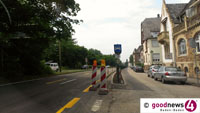 Jetzt stadteinwärts: Linke B 500-Spur ab Montag gesperrt