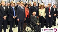 """Hochzeitspaar geriet in Baden-Badener G20-Gipfel - OB Mergen: """"Mit Herrn Draghi hatte ich sprechen dürfen"""" - Nora Waggershauser: """"7.800 Übernachtungen"""""""