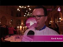 Gerd Astor zur 20. Stadtmeisterschaft der Köche und Hotelfachleute im Maison Messmer
