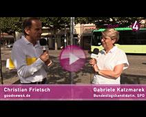 Teil 2 goodnews4-Gespräch im Bus | Christian Frietsch und Gabriele Katzmarek