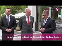 Landtagspräsident in Baden-Baden