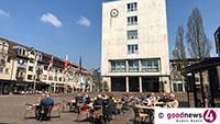 Oberbürgermeister Florus hofft wieder auf Geduld – Preis für persönliches Gespräch