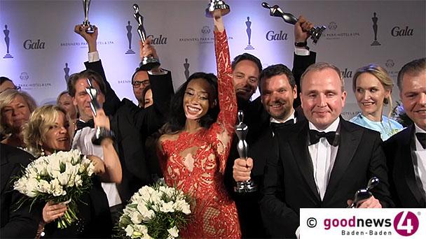 Party des Jahres im Brenners - Gala Spa Award für Chantelle Winnie - Pigmentstörung machte Model zu Shooting Star