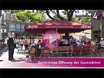 Baden-Badener Gastronomen zur Wiedereröffnung | Mike Brandau, Frank Schweikart