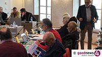 Baden-Badener Rathaus zur PFC-Affäre – Spargel und Erdbeeren könnten ohne Gefahr verzehrt werden – Drei Millionen Euro für Sanierung Fieser-Brücke