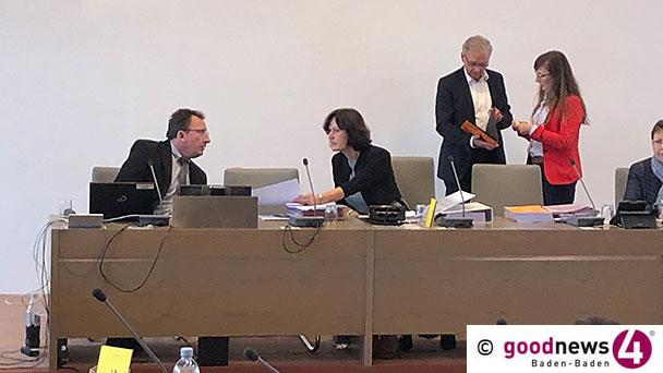 """Rede zum Baden-Badener Doppelhaushalt – OB Mergen sieht """"Medien-Hype"""" beim Klimaschutz – """"Kreditaufnahme von zweimal zwanzig Millionen Euro"""""""