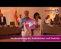 Verabschiedung der ausscheidenden Baden-Badener Gemeinderäte