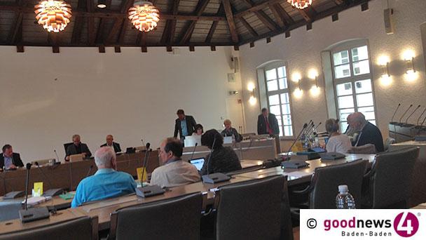 """Sitzung gestern Abend im Rathaus Baden-Baden - Runder Tisch für Neues Schloss findet keinen Anklang - Werner Schmoll: Fawzia Al Hassawi """"muss klar sein, dass sie am kürzeren Hebel sitzt"""""""