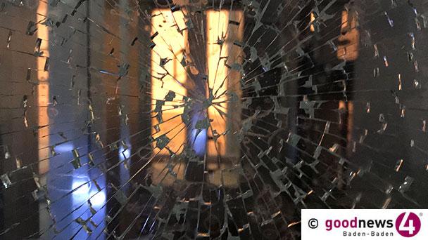 Einbrecher in Sinzheim – Glasfront widerstand Angriff