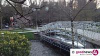 Gönnerbrücke in Lichtentaler Allee soll neu erstrahlen - Renovierung beginnt noch diese Woche
