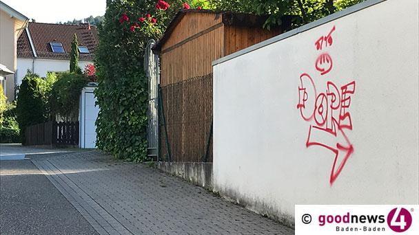 Mögliches Ende von Farbschmierereien in Baden-Baden – Zwei Sprayer vorläufig festgenommen