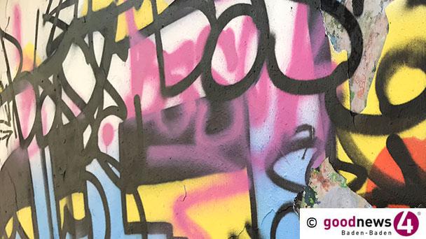 Ungeliebter Künstler in Sinzheim – Bundespolizei nimmt mutmaßliche Graffitisprayer fest