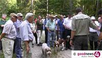 """Entspannte Stunden des Gemeinderats im Stadtwald - OB Gerstner: """"Die Ruhe, die einkehrt"""" -  Stadtrat Heinz Gehri: """"Ob der Nationalpark kommt oder nicht, das ist für Baden-Baden ohne Bedeutung"""""""