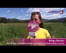 Endlich politischer Wettbewerb in Baden-Baden | Helga Decker