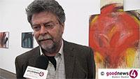 """Neue Burda-Ausstellung mit Arnulf Rainer - Intendant Helmut Friedel: """"Es bleibt ein Hauch, ein Schein und andere verschwinden im Allgemeinen"""" - """"Wo immer es um Ausbildung und Schule ging, hat er sich aufgelehnt"""""""