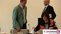 Widersprüche bei Korruptionsvorwürfen in Baden-Baden - Acht Stadträte können sich nicht erinnern - Stadtrat Heinz Gehri bestreitet VIP-Lounge-Äußerungen