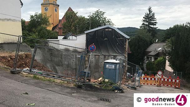 """Hardstraße, Bergengruenstraße, Gartenweg komplett gesperrt – """"Restarbeiten"""" zur Kranstellung in der Hardstraße"""