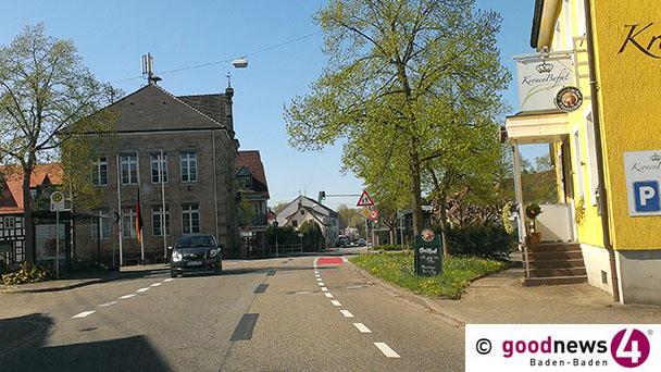 Vollsperrung in Haueneberstein – Buslinien 216 und 243 ändern Strecken