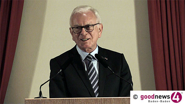 "Coeur de l'Europe Preisträger Hans-Gert Pöttering mit scharfen Worten - ""Das Recht hat die Macht und nicht die Macht das Recht"" - EVP-Vorsitzender Joseph Daul: «Rechtsstaat, Justiz und Korruptionsbekämpfung"""