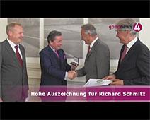 Hohe Auszeichnung für Richard Schmitz