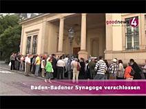 Baden-Badener Synagoge verschlossen
