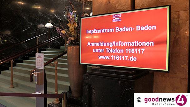500 AstraZeneca-Impftermine frei in Baden-Baden – Weitere Termine für Donnerstag und Sonntag – Biontech am Mittwoch