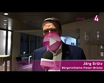 Jubel bei Bürgerinitiative Fieser-Brücke | Jörg Grütz