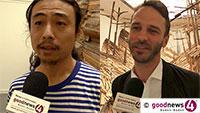 """Chinesischer Künstler Liang Shuo in Staatlicher Kunsthalle Baden-Baden - """"Material nicht aus Peking"""" - """"In Rastatt wurde die alte Schlosskirche erneuert, der Boden wurde herausgerissen"""""""