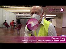 Kurhaus Baden-Baden mit 260 Impfungen gestartet | Jürgen Jung