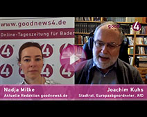 Baden-Badener AfD-Europaabgeordneter Joachim Kuhs im goodnews4-Interview