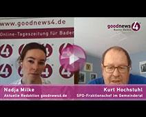 Baden-Badener SPD-Fraktionschef Kurt Hochstuhl mahnt zur Geduld