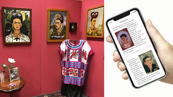 """Frida Kahlo Ausstellung """"Meine Geheimnisse"""" jetzt als App"""