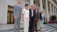 Besuch von Karlsbads Oberbürgermeister Kulhanek in Baden-Baden erst jetzt bekannt gegeben - Gespräche über Schüleraustausch und andere Projekte