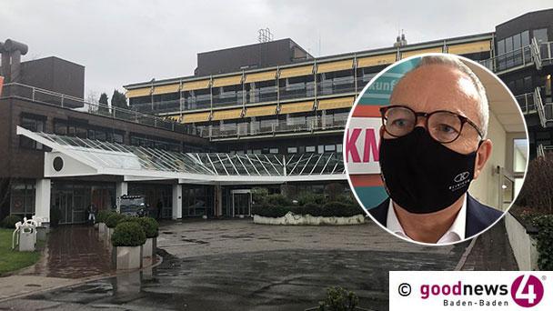"""Baden-Badener Klinikchef Thomas Iber mit guten und weniger guten Nachrichten – Bald wieder planbare Operationen – """"Junge Patienten, 27, 42, 45 Jahre, was uns viel Sorgen macht"""""""
