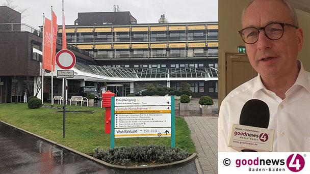 """Klinik-Chef Thomas Iber zum ersten Todesfall in Baden-Baden – Und zum Verlauf der Corona-Pandemie – """"Stille Hoffnung, dass es nicht zu einem unkontrollierten exponentiellen Anstieg kommt"""""""