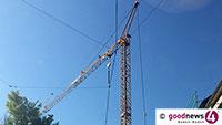 Lessingstraße heute gesperrt – Kran wird abgebaut