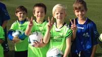 KSC-Fußballschule für Mädchen und Jungen auch 2015