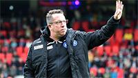 KSC-Chefcoach Markus Kauczinski verlängert bis 2016 - Auch Co-Trainer Giannikis und Torwarttrainer Kai Rabe verlängern