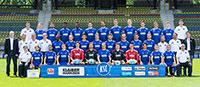KSC präsentiert offizielles Mannschaftsfoto dieser Saison