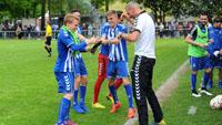 KSC-Junioren im Halbfinale um Deutsche Meisterschaft gegen Schalke 04 - 2:0 gegen Augsburg