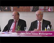 Kurhaus bekommt neuen Wintergarten | Interviews mit Karlheinz Hillenbrand und Meinrad Schmiederer