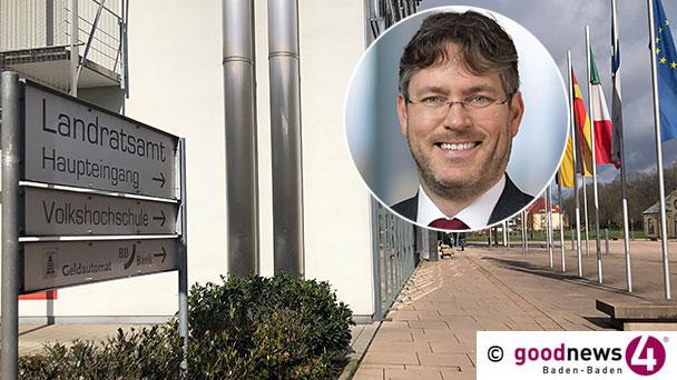 Christian Dusch neuer Landrat im Landkreis Rastatt – 31 Kreisräte stimmten für den CDU-Kandidaten