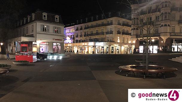 Baden-Baden schließt Kinos, Discos, Bars, Museen, Festspielhaus, Theater, Bäder – Prostitution verboten – Gottesdienste erlaubt
