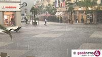 Unwetter können so plötzlich auftreten – Tipps der Baden-Badener Feuerwehr bei Unwetterwarnungen