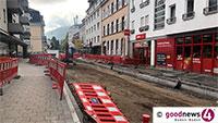 Kreuzung Weinbergstraße und Lichtentaler Straße ab heute gesperrt – Umleitung über Friedhofstraße