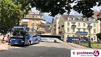 Werner Schmoll unzufrieden mit OB-Antwort – Keine schnelle Lösung für Reisebusaufkommen in Baden-Badener Innenstadt