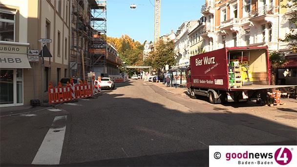 Neue Baustelle gleich neben dem Leopoldsplatz - Erste öffentliche Baustellenbegehung in der Luisenstraße