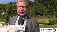 """Markus Brunsing berichtet vom großen Kapital Baden-Badens - """"Einer der schönsten Rosengärten der Welt"""""""