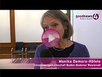 Nur eine Stadträtin für 10.000 Baden-Badener | Monika Demers-Hoefele
